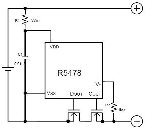 为了能稳定电路工作,c1值应该大于0.001μf小于0.01μf.